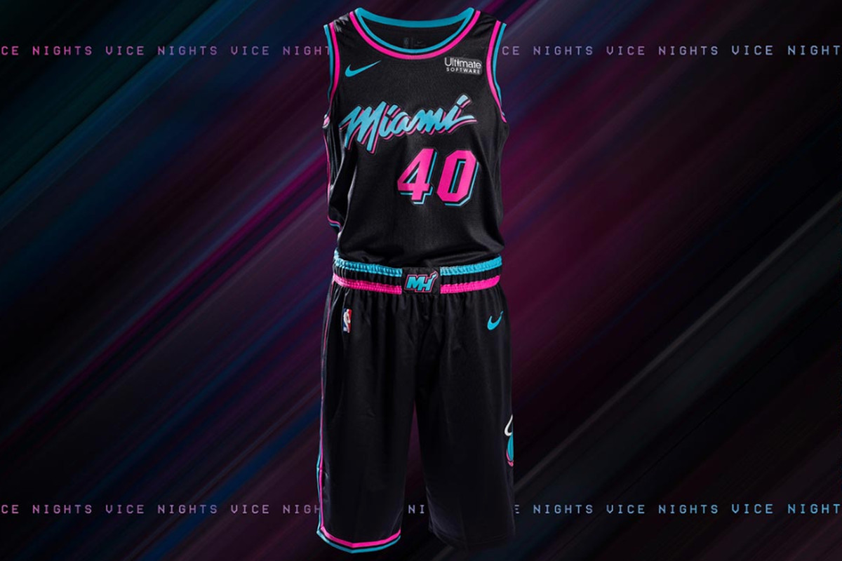 cheap for discount b57f8 51f8a New Miami Heat vice jerseys announced, see it here. - Hot ...