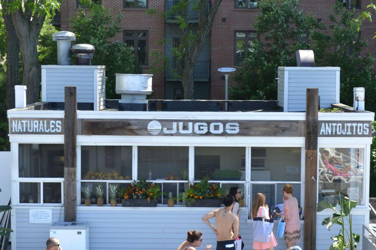 Jugos pop-up at The Clubs at Charles River Park
