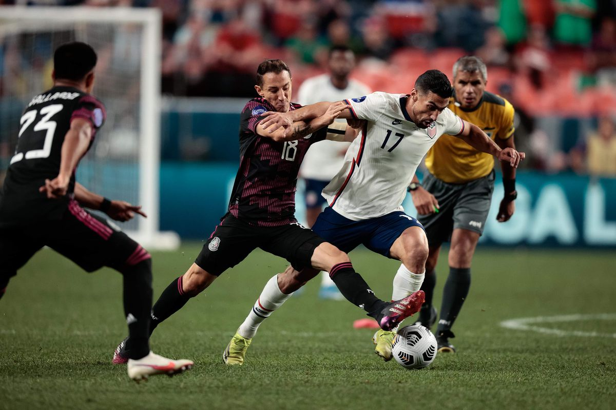 Soccer: 2021 Concacaf Nations League Finals-USA at Mexico