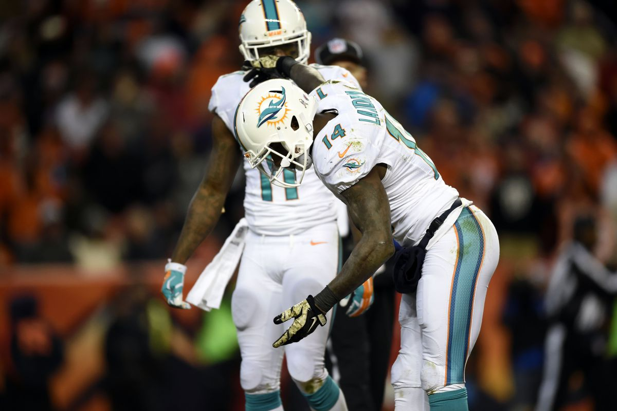 """""""Mile High Meltdown"""", starring Jarvis Landry and Mike Wallace."""