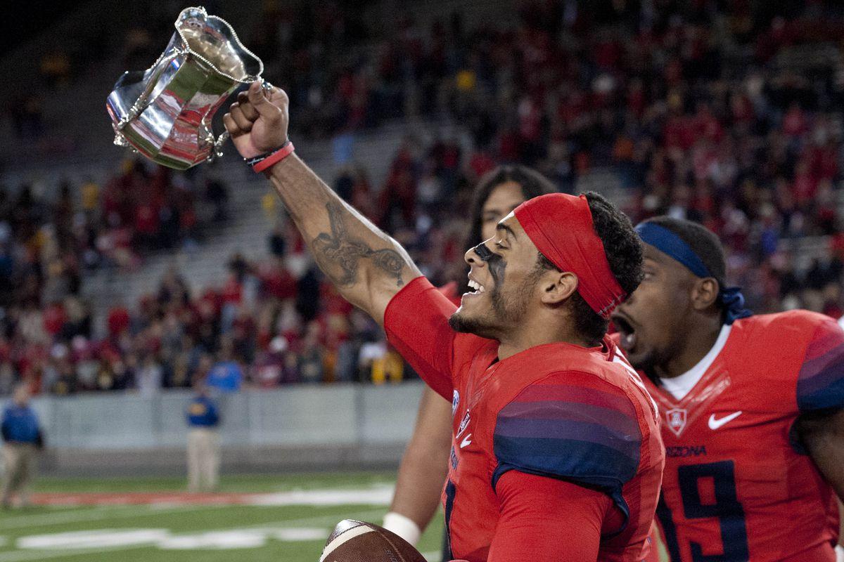 NCAA Football: Arizona State at Arizona