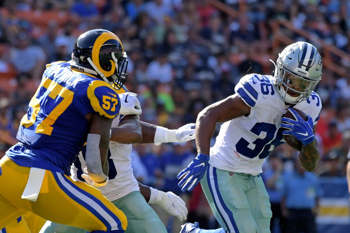 NFL: Preseason-Dallas Cowboys at Los Angeles Rams