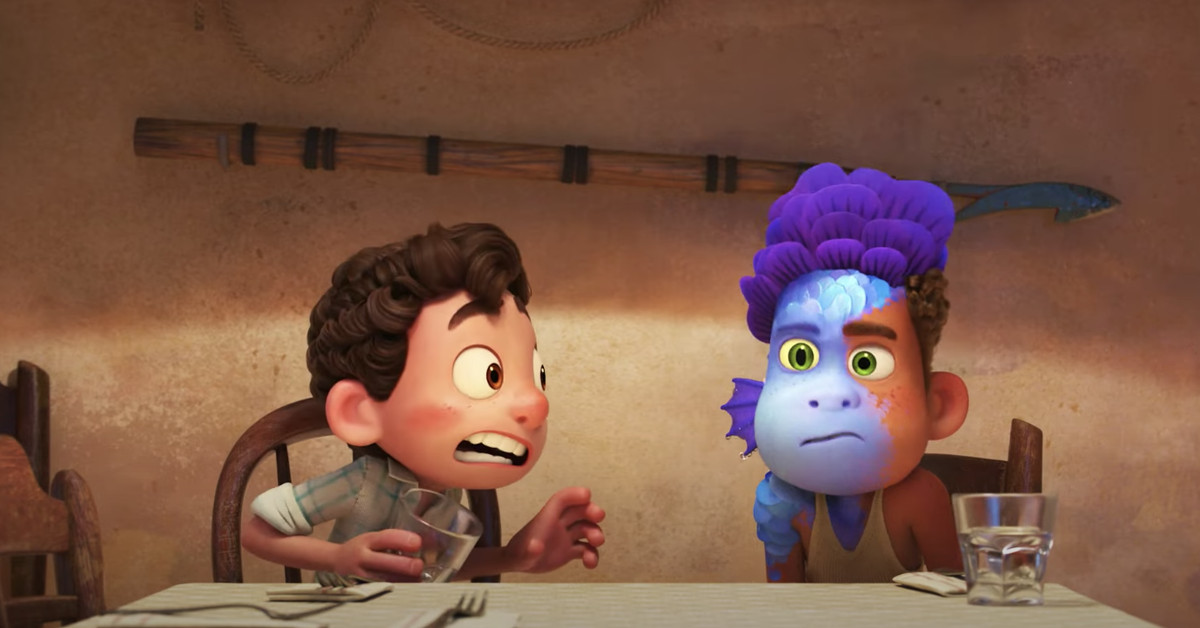 Watch the first trailer for Pixar's Luca - The Verge
