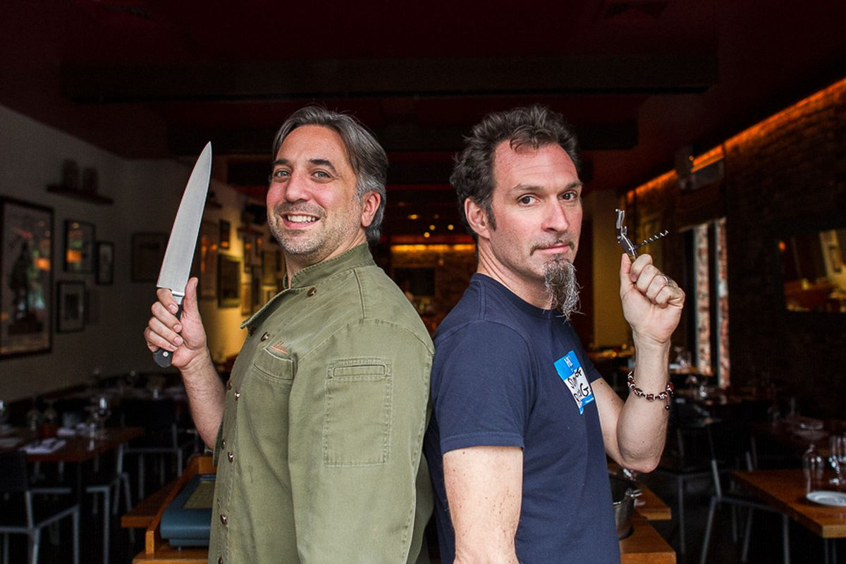 Marco Canora and Paul Grieco Split, Dividing Up Hearth and Terroir ...