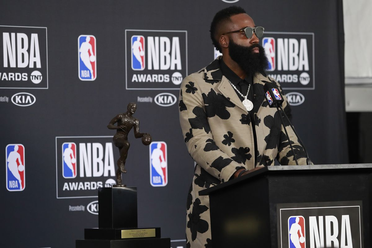 Betting odds have James Harden as early front-runner for MVP favorite