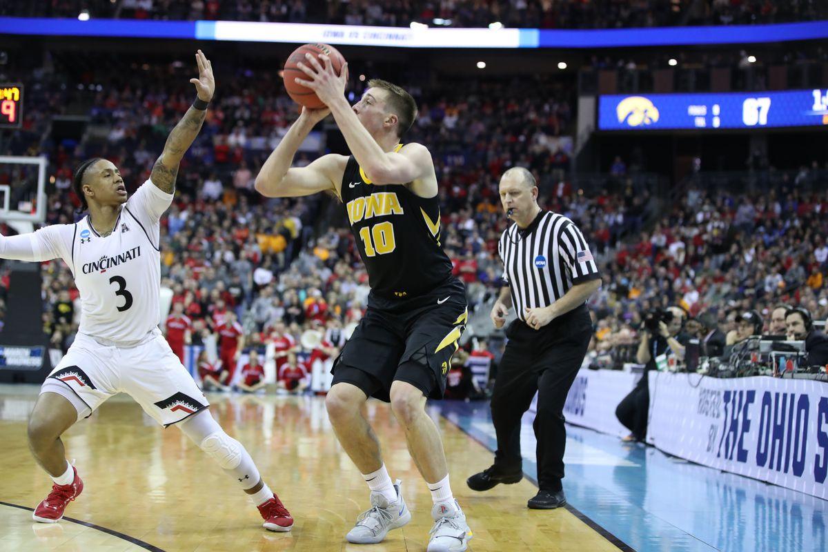 NCAA Basketball: NCAA Tournament-First Round- Iowa Hawkeyes vs Cincinnati Bearcats