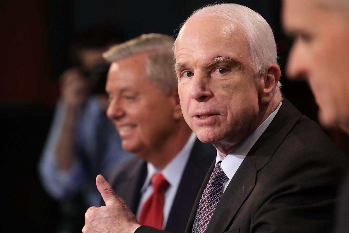 Senators McCain, Graham, Cassidy and Johnson Discuss Health Care Reform