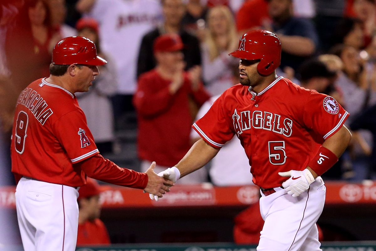 Tampa Bay Rays v Los Angeles Angels of Anaheim