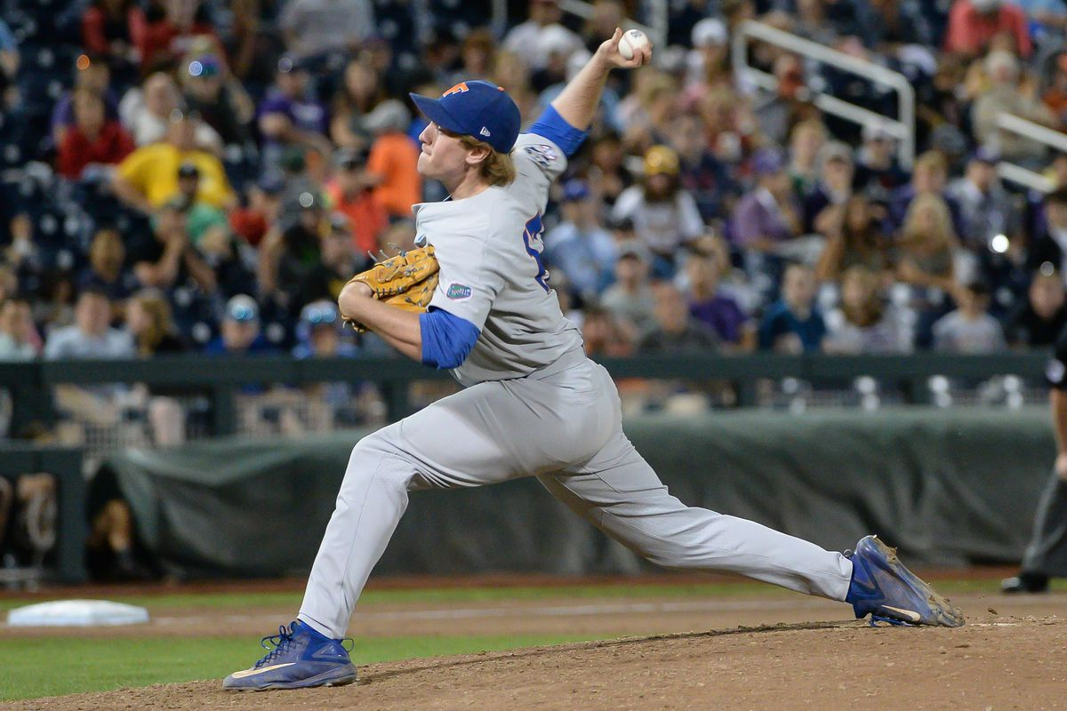 Florida Gators hoping for more pitching excellence in College World Series finals