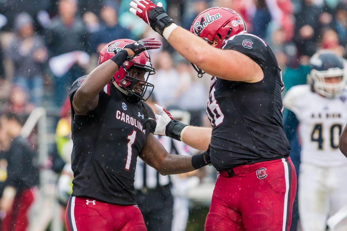 NCAA Football: Akron at South Carolina