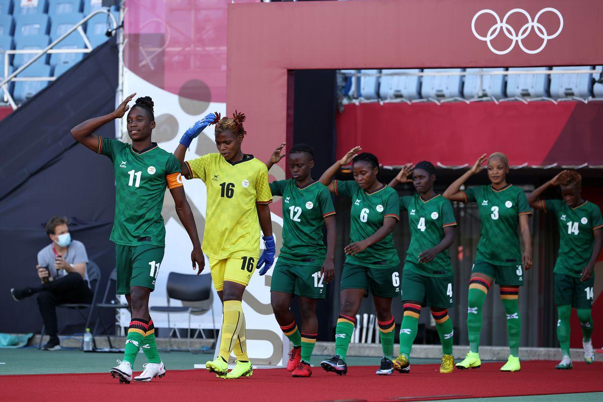 China v Zambia: Women's Football - Olympics: Day 1