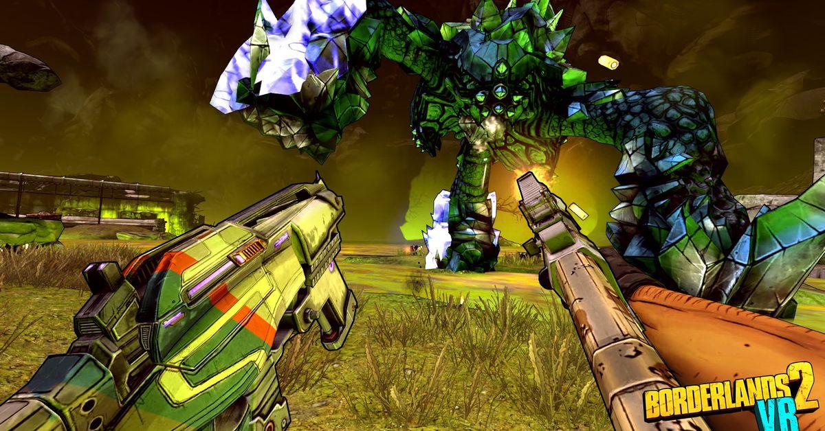 Borderlands 2 Coming To Playstation Vr Polygon