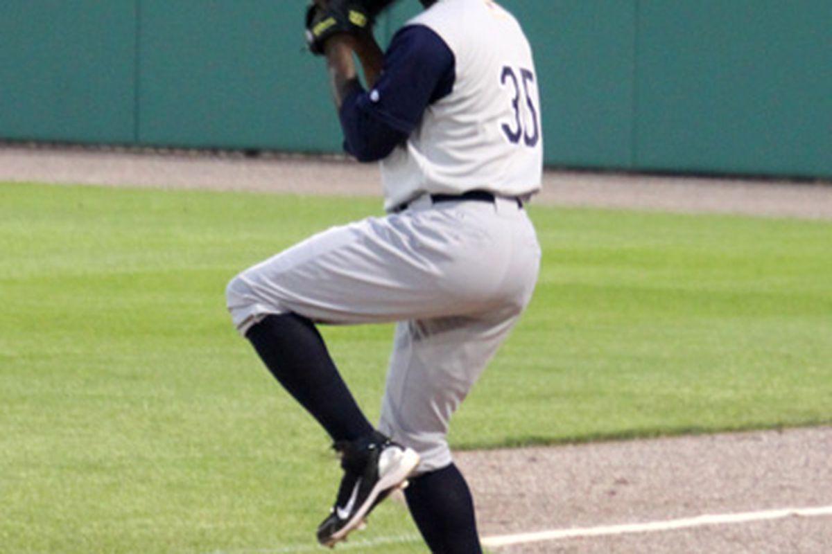 Deunte Heath. (Jim Margalus / South Side Sox)