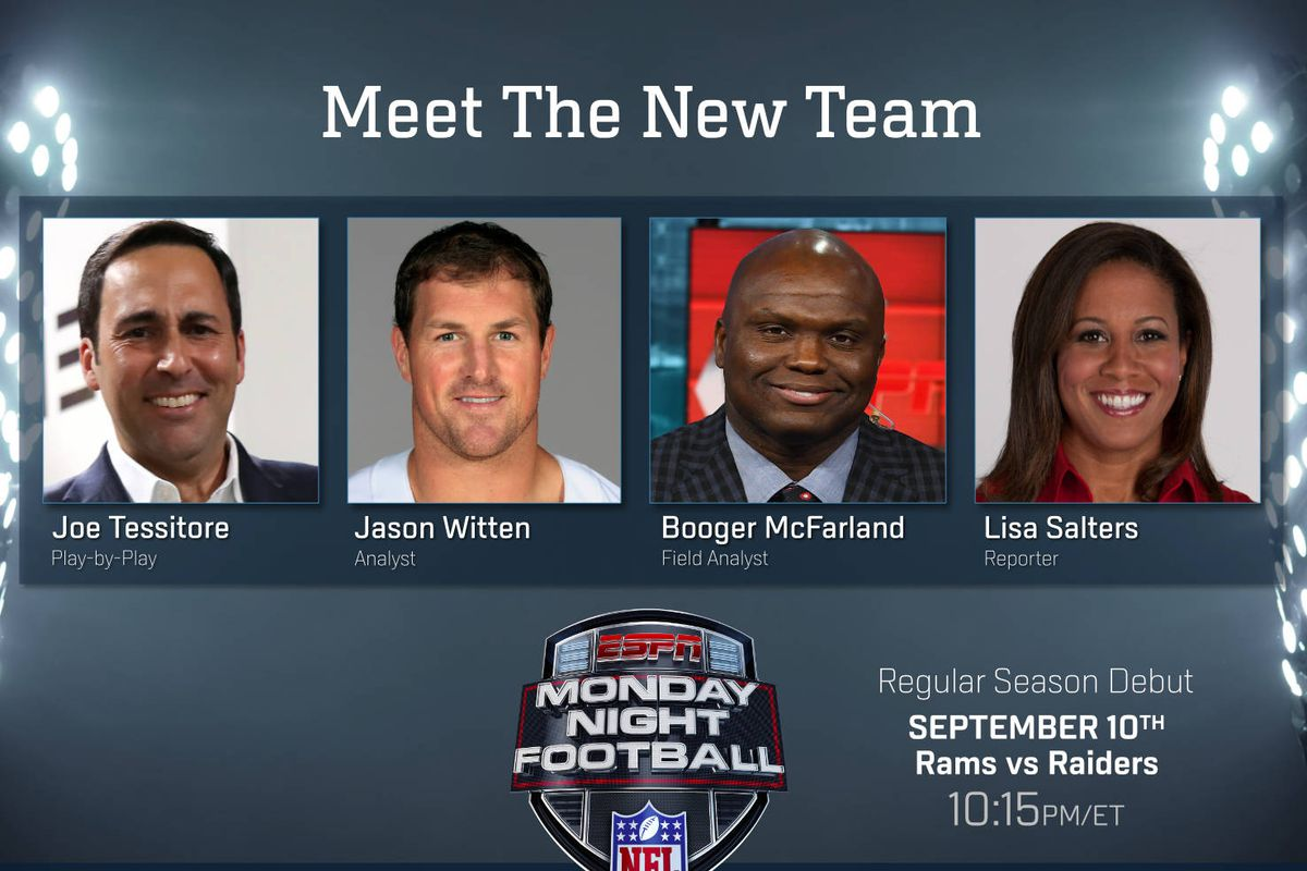 Don T Be Surprised If Espn S New Monday Night Football Broadcast Is