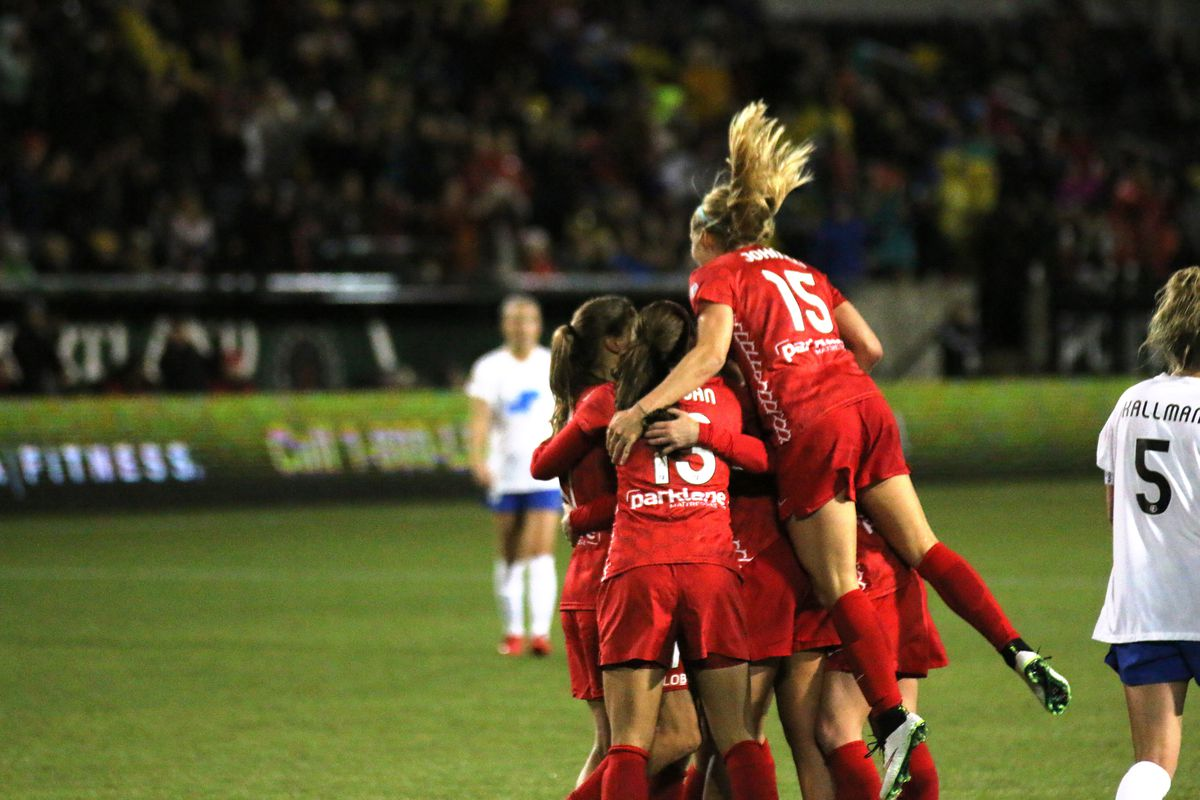 Portland came back from a goal down to earn all three points in a 2-1 win Friday night against Sky Blue FC