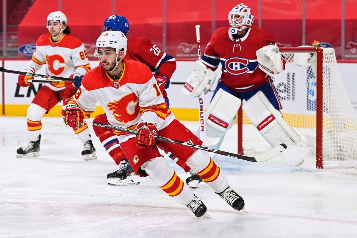 NHL: JAN 30 Flames at Canadiens