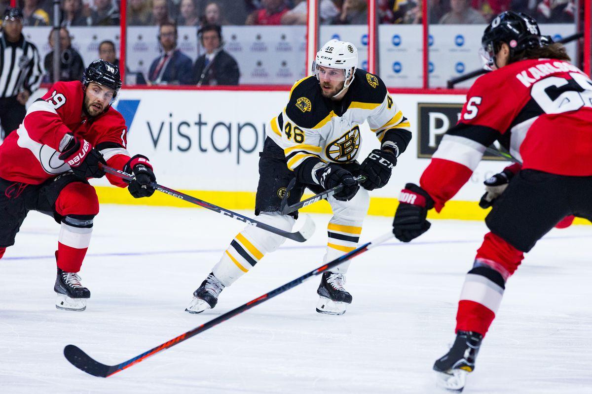 NHL: JAN 25 Bruins at Senators
