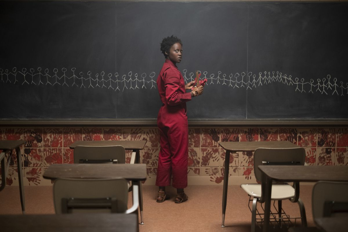 Lupita Nyong'o as Adelaide Wilson doppelgänger Red in Us