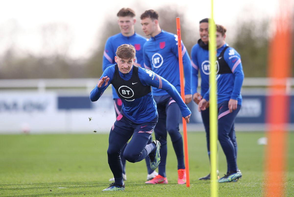 England Under 19 Training Session