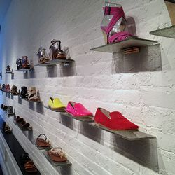 The Gitane smoking shoes, $169, are a big seller.
