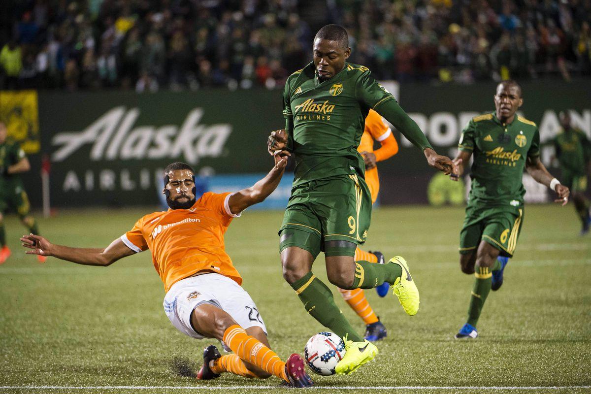 MLS: Houston Dynamo at Portland Timbers
