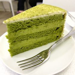 """Green Tea Mousse Cake from Lady M by <a href=""""http://www.flickr.com/photos/foodforfel/8069912297/in/pool-eater"""">foodforfel</a>"""