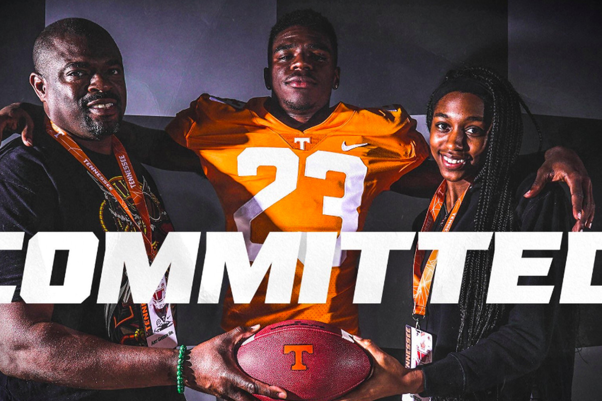 Tennessee Vols Football Recruiting Art Green Commit