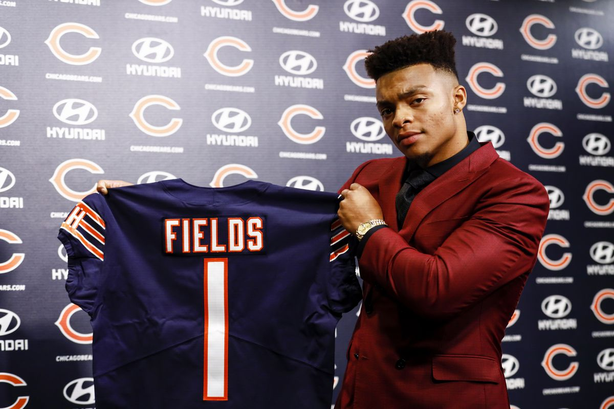 Bears' Justin Fields: 'I expect myself to be a franchise QB' - Chicago  Sun-Times