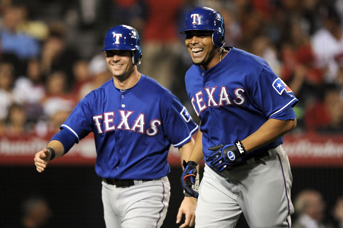 Grins are also bigger in Texas. (Photo by Harry How/Getty Images)