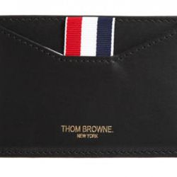 Thom Browne Credit Card Case ($230), available at Thom Browne.