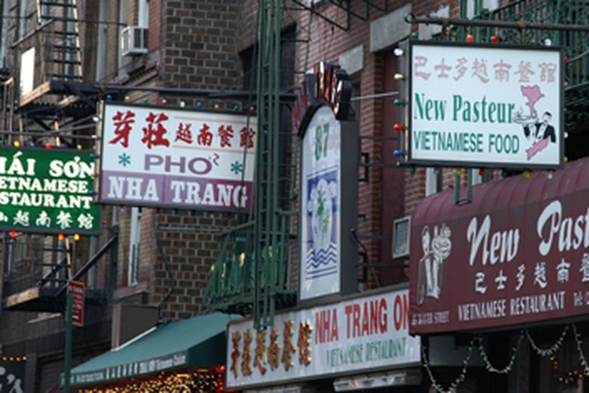 NYC: Vietnamese Restaurants in Chinatown