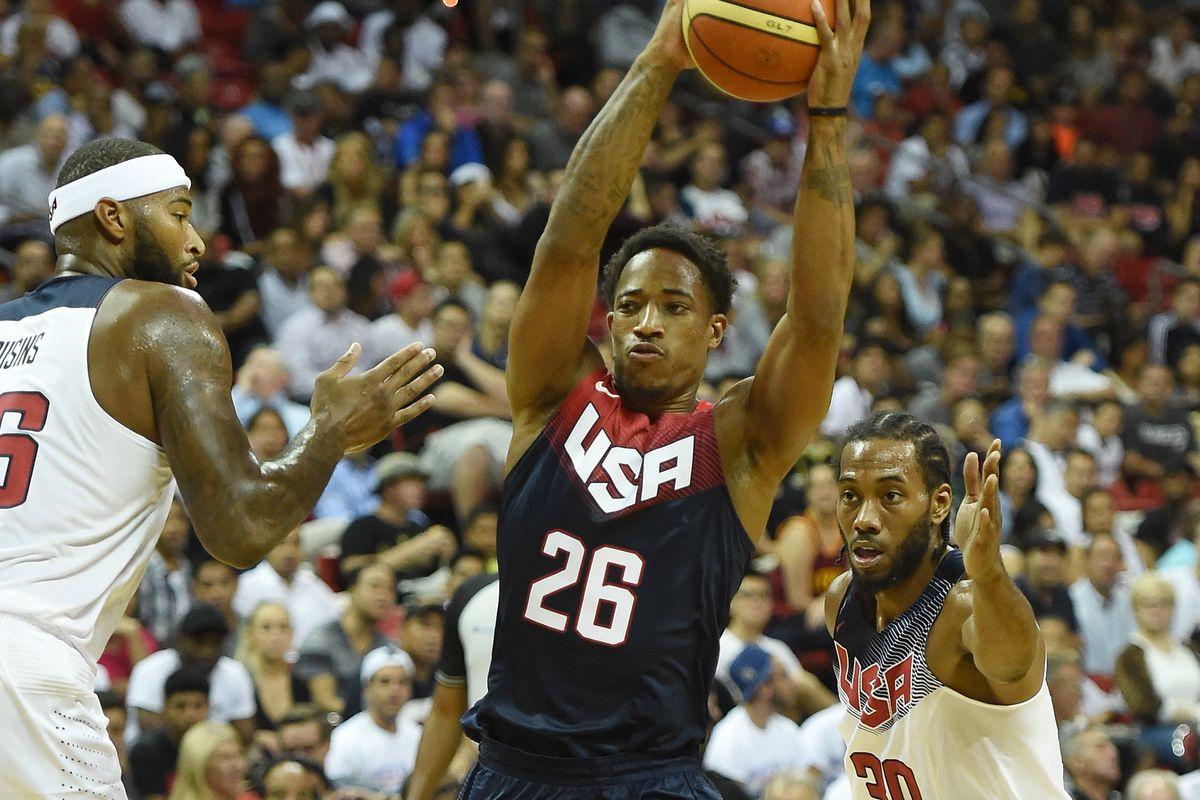 Team USA Basketball Showcase