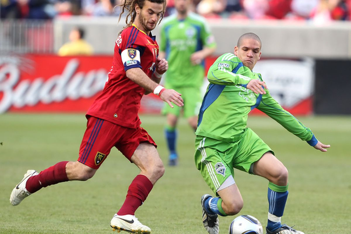 Kyle Beckerman has become an offensive force in addition to being a fine defender. He's no Honey Badger though.