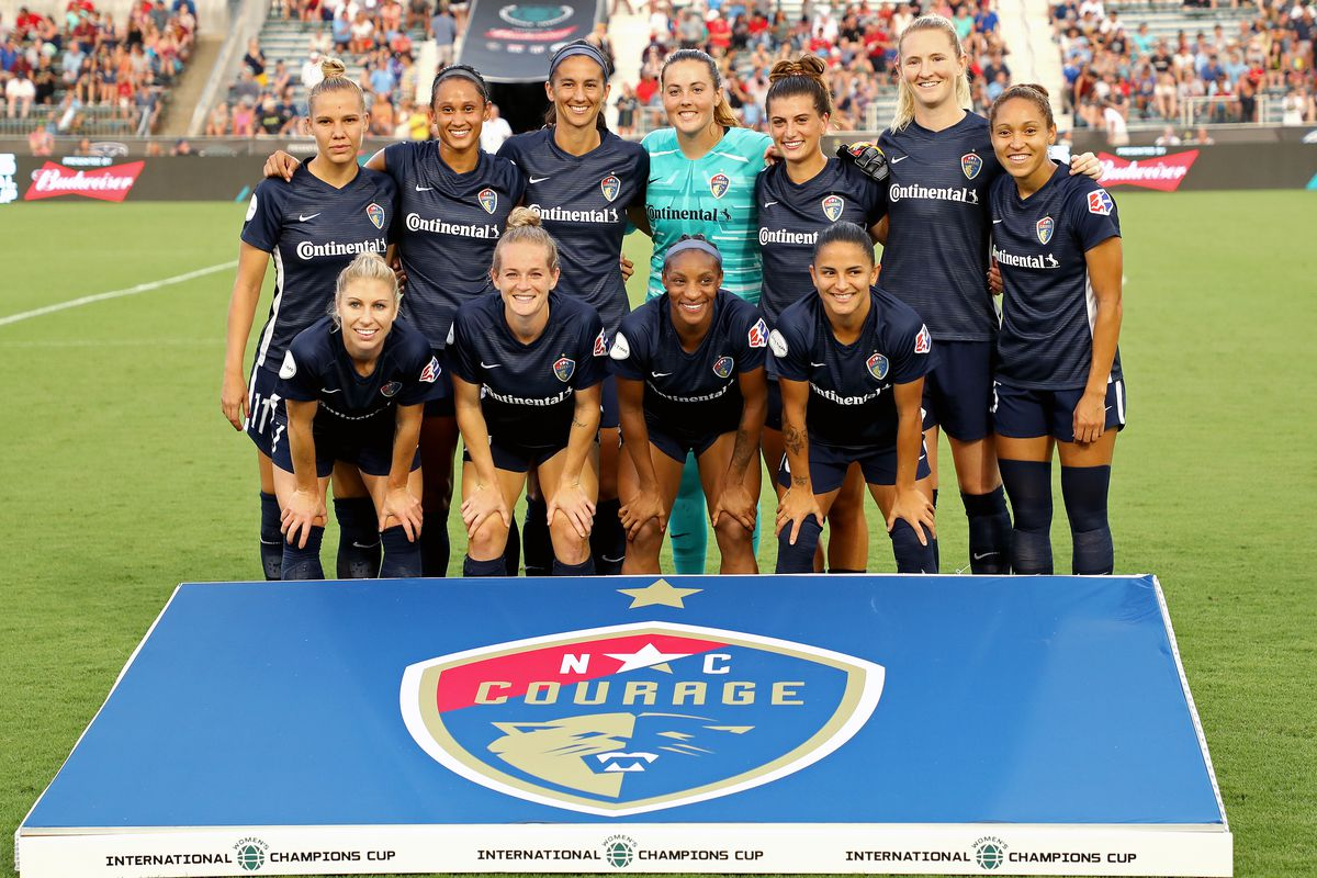 North Carolina Courage v Manchester City - 2019 Women's International Champions Cup