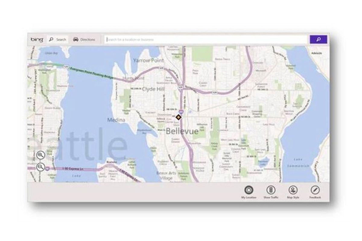 bing metro maps