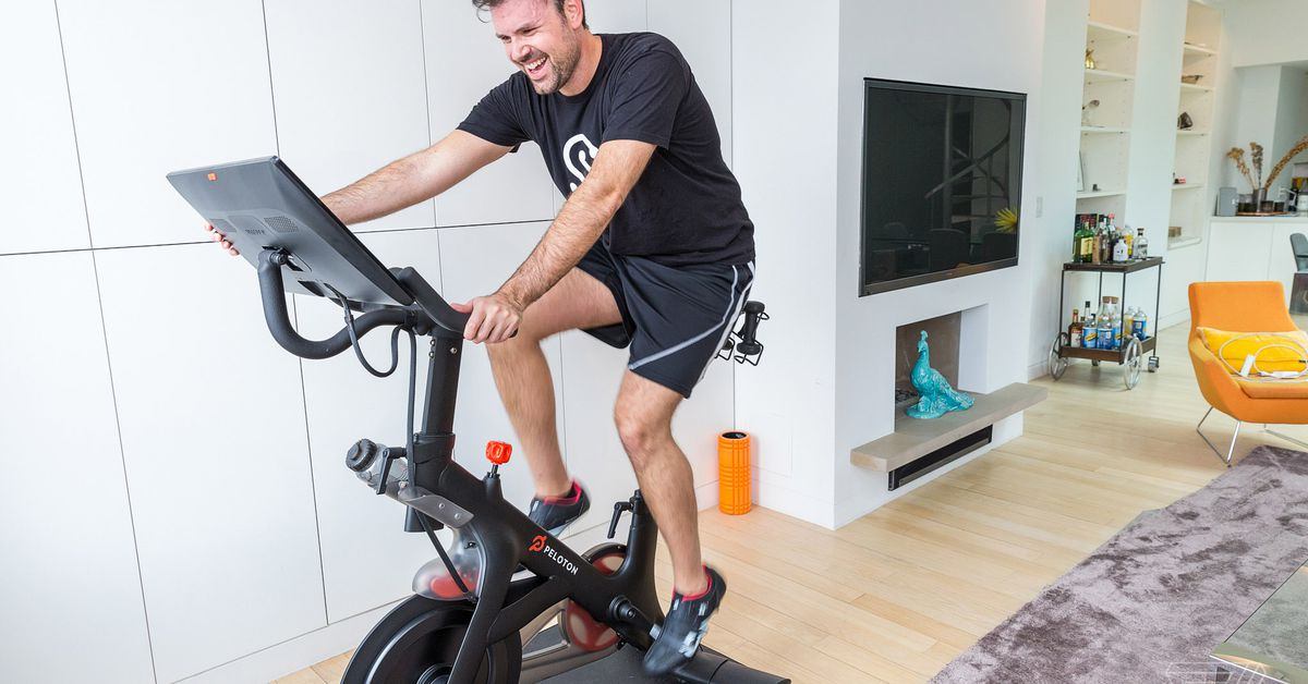 Peloton to launch it's smart bike in the UK and Canada, which costs $1995 to buy in the USA