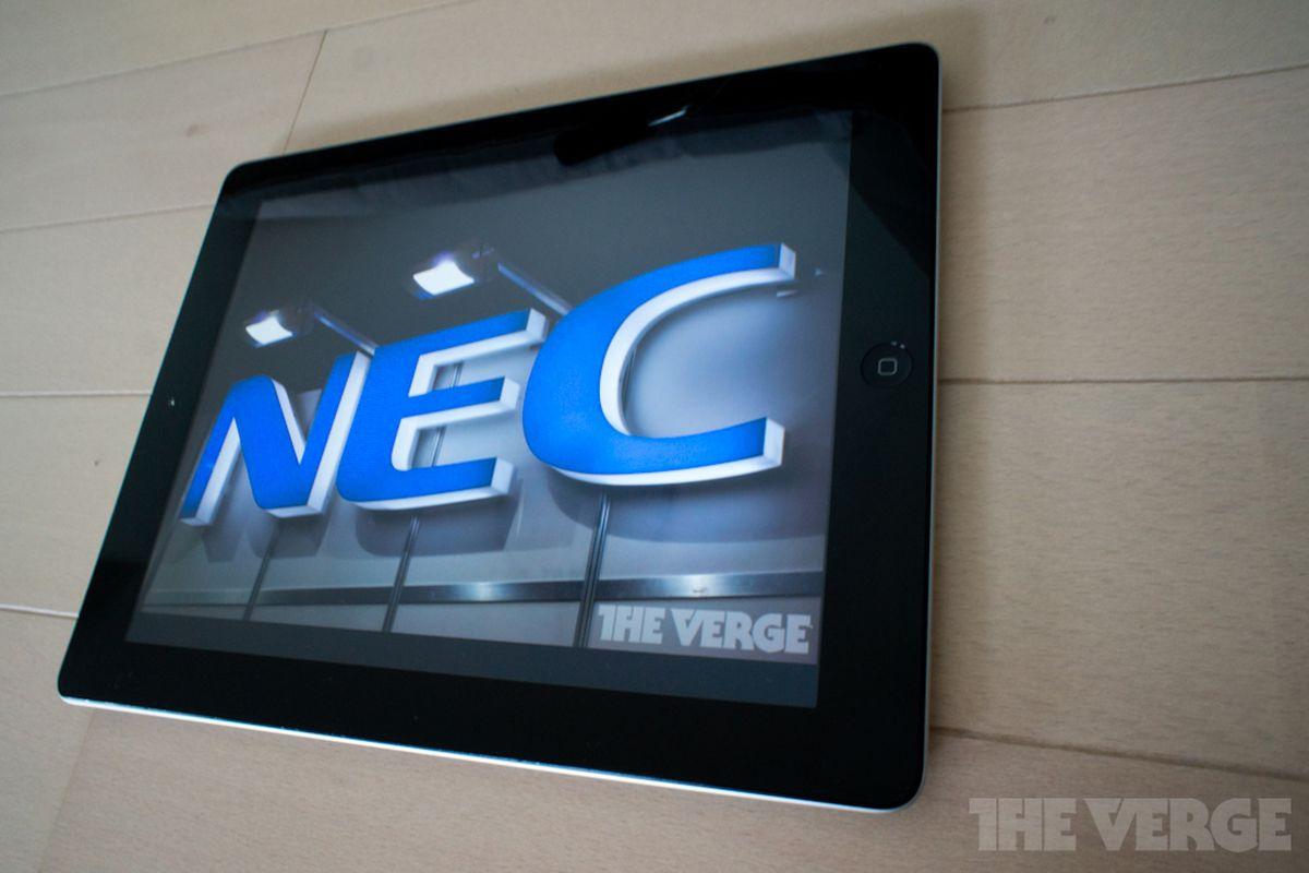 nec logo ipad 1020