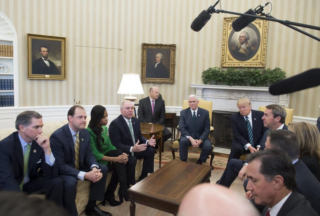 Republicans in the Oval Office