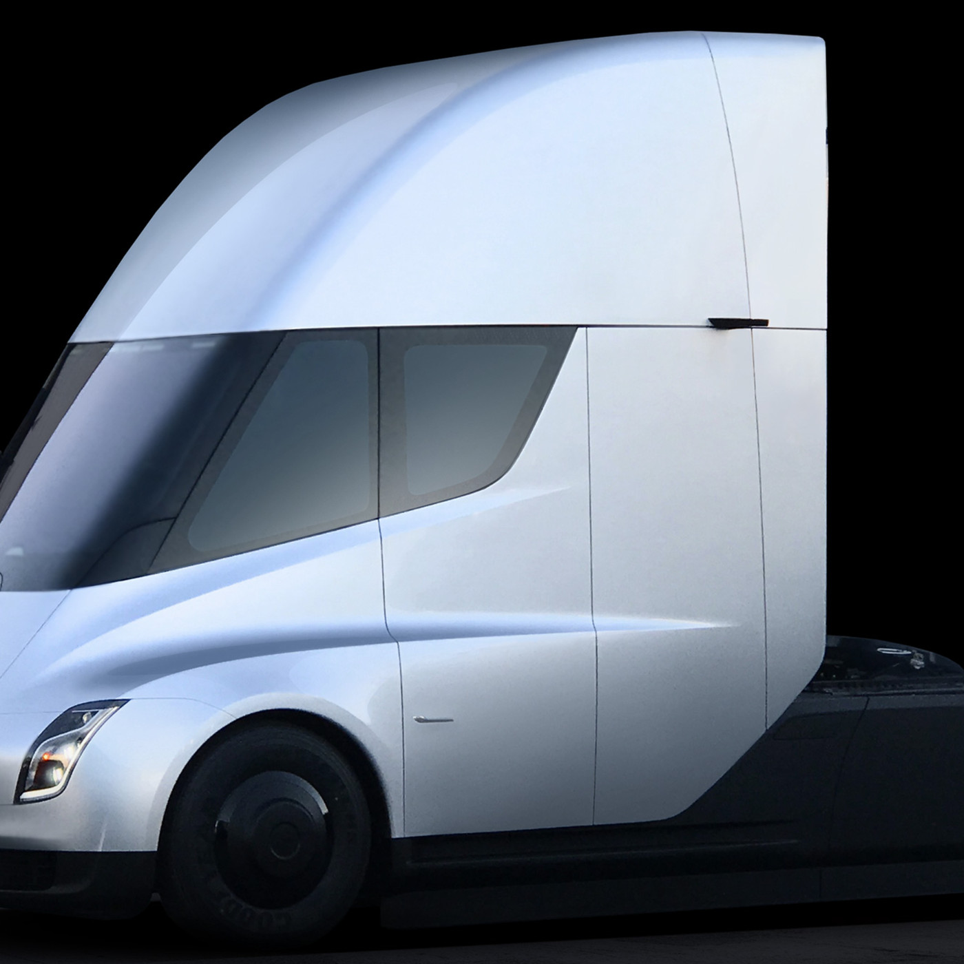 Tesla's electric semi truck: Elon Musk unveils his new