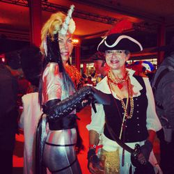 An '80s-loving unicorn and a pirate wench.