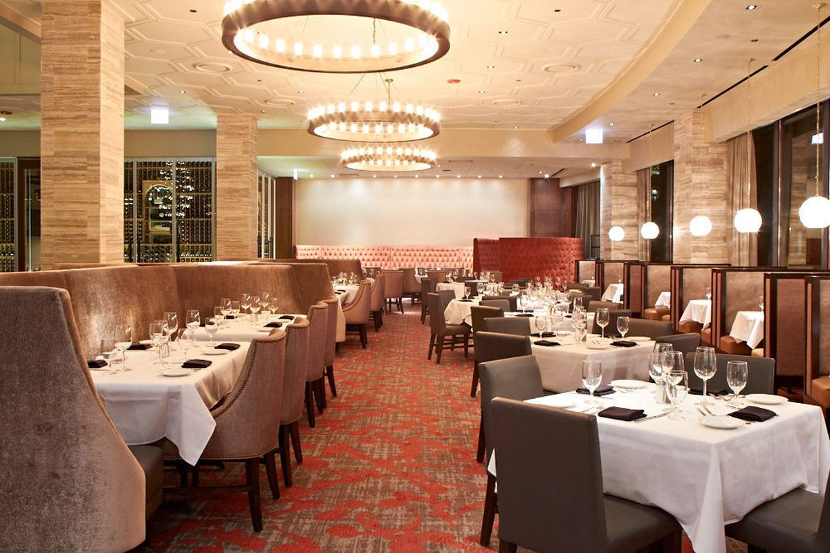 view of the main dining room