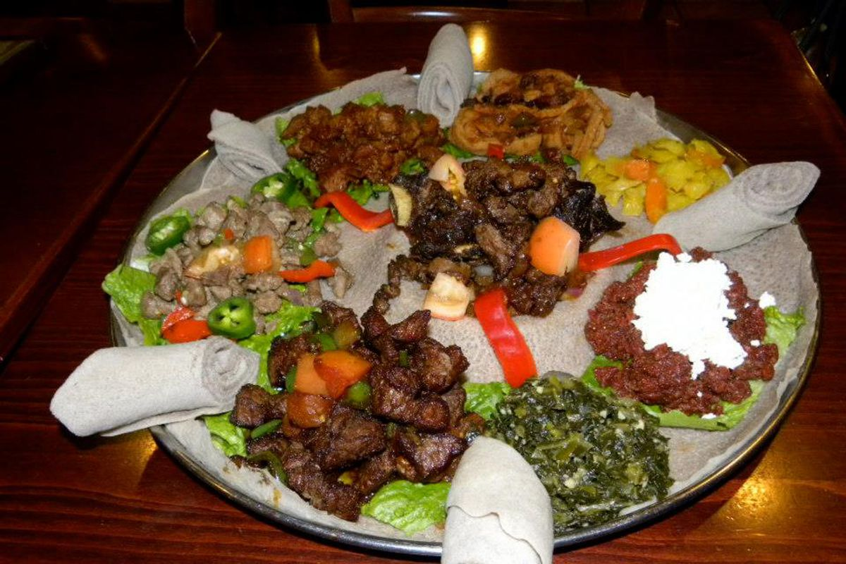 Shaw restaurateurs export queen of sheba to ethiopia for Abyssinia ethiopian cuisine