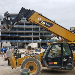 Plaza building and equipment -