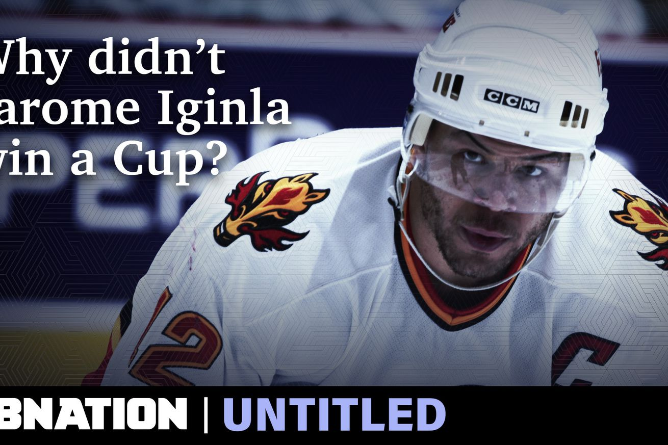 Why Jarome Iginla never won a Stanley Cup