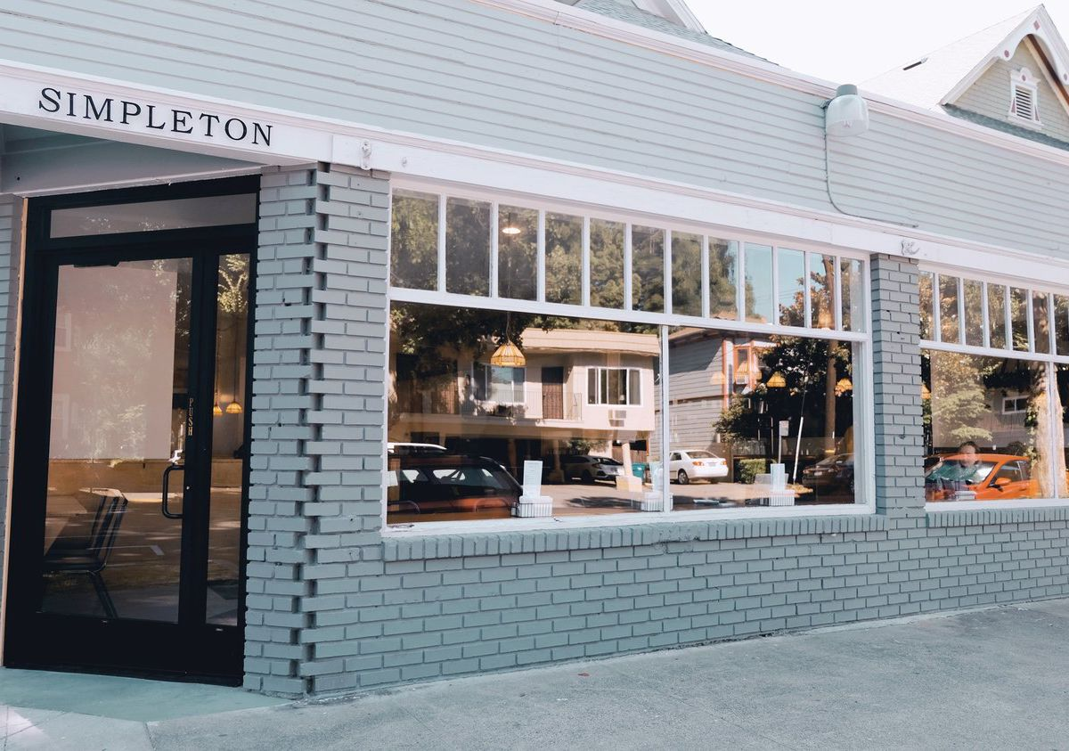 Exterior of Simpleton in Sacramento