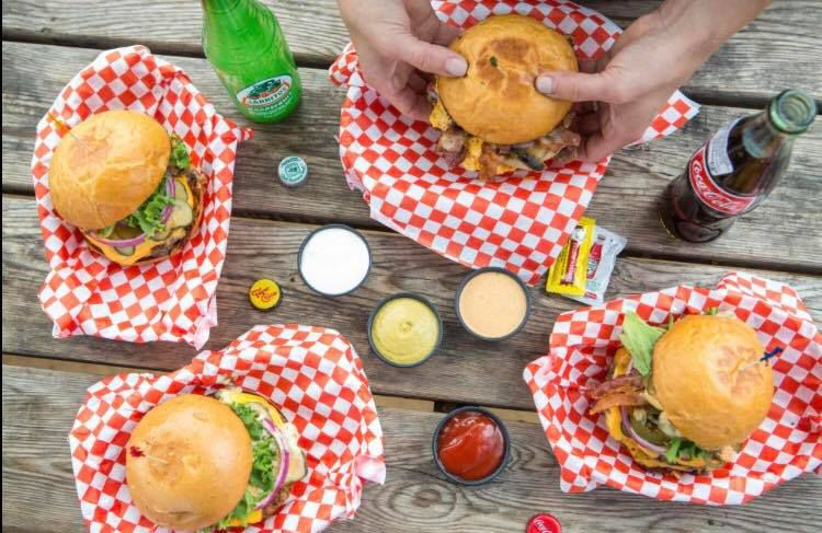 Hotel Vegas Concession Stand's burgers