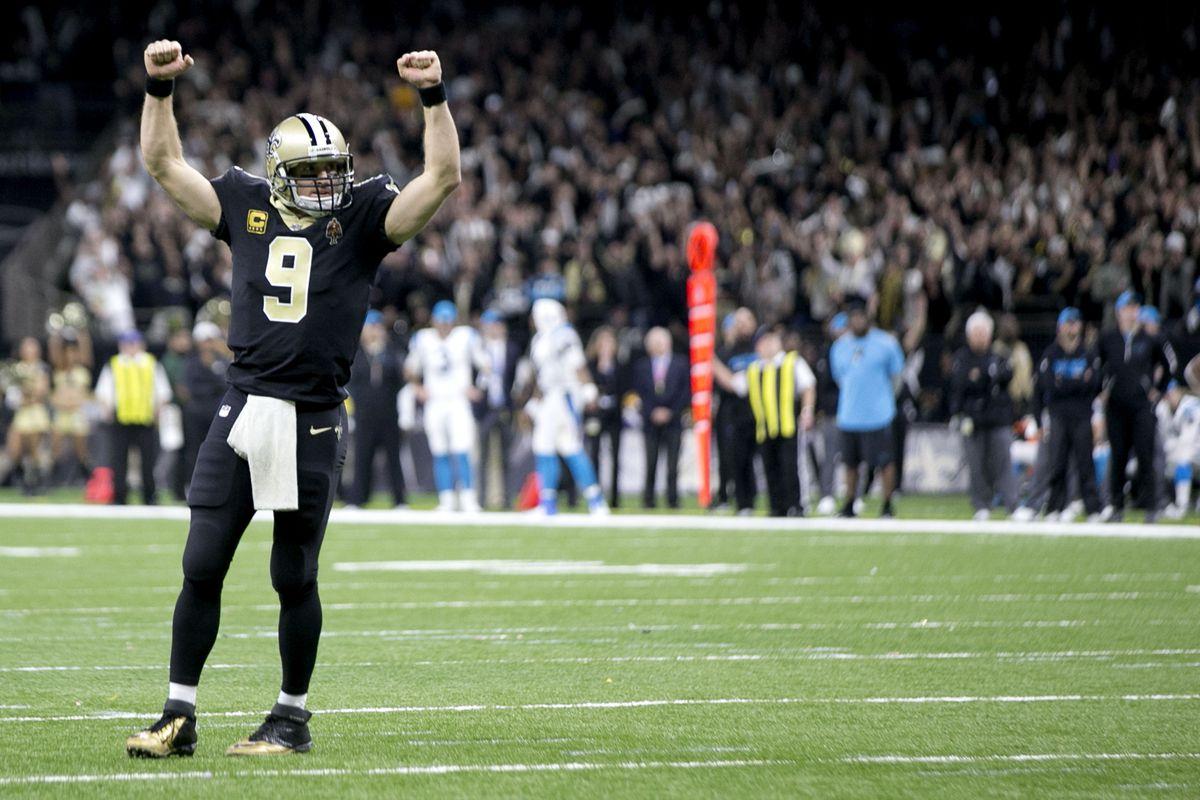 Wild Card Round - Carolina Panthers vs New Orleans Saints