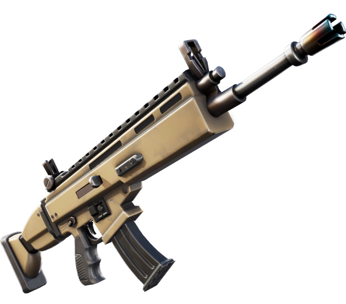 Fortnite Chapter 2 Assault Rifle Epic