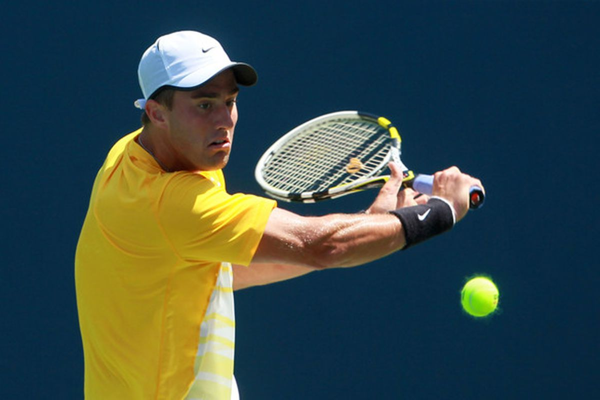 USC Trojans senior tennis star Steve Johnson, the 2011 NCAA Men's Singles champion, will face off with Alex Bogomolov Jr. in the first round of the U.S. Open in New York.