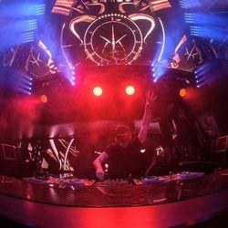 Hardwell at Hakkasan on Friday night. Photo: Al Powers/Powers Imagery LLC